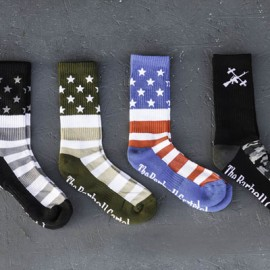 THE BARBELL CARTEL - Chaussettes modèle AMERICAN FLAG