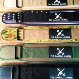 "THE BARBELL CARTEL - 4"" Cordura Weightlifting Belt"