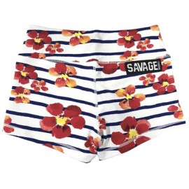 "SAVAGE BARBELL - Short Mujer ""Jail Blossom"""