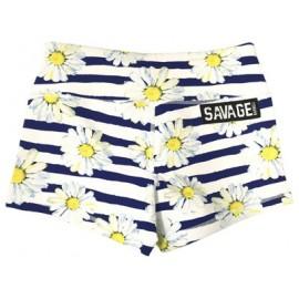 "SAVAGE BARBELL - Short Mujer ""Sunshine Daisy Dukes"""