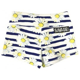 "SAVAGE BARBELL - Short Mujer ""Sunshine Daisy Dukes"""
