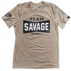 """SAVAGE BARBELL - Camiseta Hombre """"Team Savage"""""""