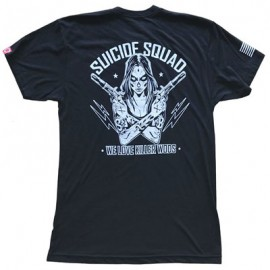 "SAVAGE BARBELL - Camiseta Hombre ""Suicide Squad"""