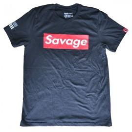 """SAVAGE BARBELL - Camiseta Hombre """"SAVAGE Box"""""""