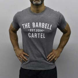 """THE BARBELL CARTEL - T-shirt Homme """"CLASSIC LOGO"""""""