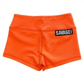 "SAVAGE BARBELL - Short Mujer ""Orange Crush"""