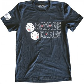 "SAVAGE BARBELL - Camiseta Hombre ""SAVAGE GAMES"""