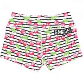 "SAVAGE BARBELL - Short Mujer ""Cherry Bomb"""