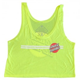 "SAVAGE BARBELL - Crop Top Mujer ""Retro Savage - Glow Stick"""