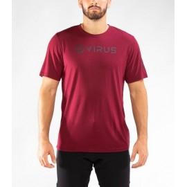 "VIRUS - PC109 | Camiseta Forever ""Maroon"""