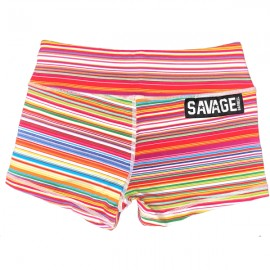 """SAVAGE BARBELL - Short Mujer """"Candy Shop"""""""