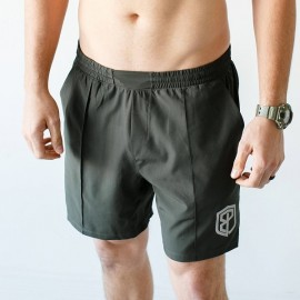 "BORN PRIMITIVE Short ""Training Shorts"" Tactical Green dr wod"
