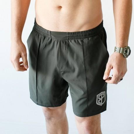"BORN PRIMITIVE Short ""Training Shorts"" Tactical Green dr wod"