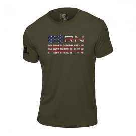 "BORN PRIMITIVE - T-Shirt ""The Patriot Brand Tee"" OD Green"