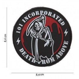 "DR WOD - Parche Velcro PVC ""Death from above"""