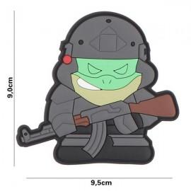 """DR WOD - Parche Velcro PVC """"Tactical Frog"""""""
