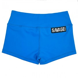 """SAVAGE BARBELL - Short Mujer """"Blue Sapphire"""""""