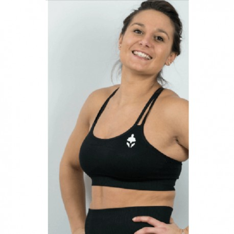 "dr wod TYCE- Top  ""Sports Bra - Negra"