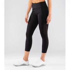 VIRUS - ECo53.5   Lux Mesh Stay Cool - Black 7/8 Compression Leggings