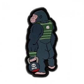 """DR WOD - Parche Velcro PVC """"Gorila"""""""