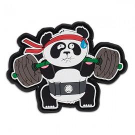 """DR WOD - Parche Velcro PVC """"Back Squat Panda"""""""