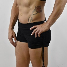 WOD RAGE - Short DRAWSTRINGS Noir