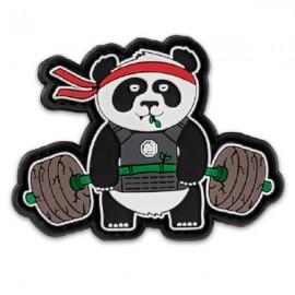 """DR WOD - Parche Velcro PVC """"Deadlift Panda"""""""