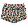 "SAVAGE BARBELL - Women Booty Short ""Tetris"""