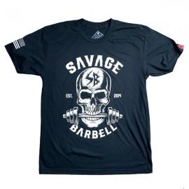 "SAVAGE BARBELL - Camiseta Hombre ""Bite Me """