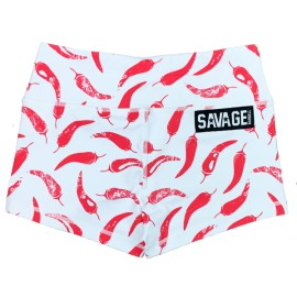"SAVAGE BARBELL - Short Femme Chili ""Pepper"""