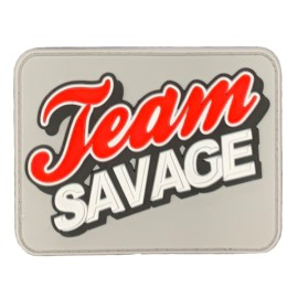 "SAVAGE BARBELL - Parche Velcro PVC ""Texas Savage"""