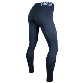 SAVAGE BARBELL - Mallas Mujer con cintura alta Waist-Band-Ankle Lengthantis""