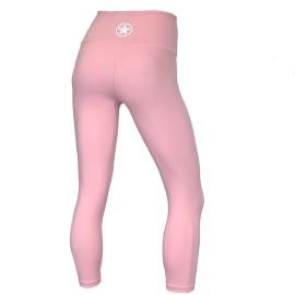 "SAVAGE BARBELL - Leggings Femme Taille haute ""BLUSH"""