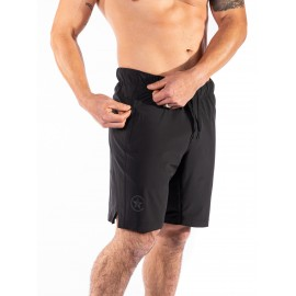 """SAVAGE BARBELL - Men's Short  """"Competition 2.0"""" Black"""