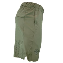 """SAVAGE BARBELL - Short Homme """"Competition 2.0"""" Dusty Olive"""
