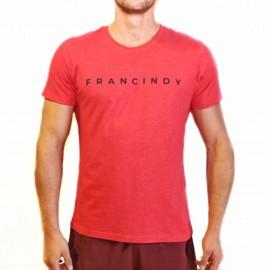 FRAN CINDY - CamIseta RED LETTER TEE